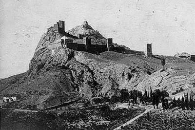 Старые фото Судакской крепости