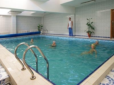 Санаторий «Приморье» - бассейн