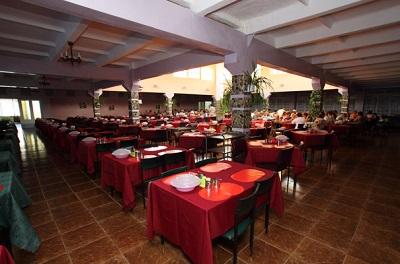 В ресторане пансионата Голубой залив
