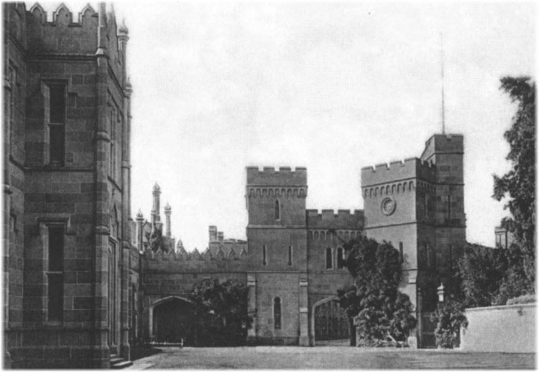 дворец в годы Ялтинской конференции