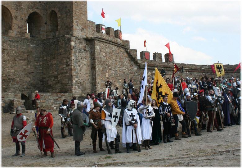 фестиваль Генуэзский шлем