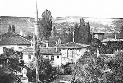 Старые фото Ханского дворца