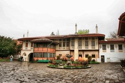 Современный облик дворца в Бахчисарае