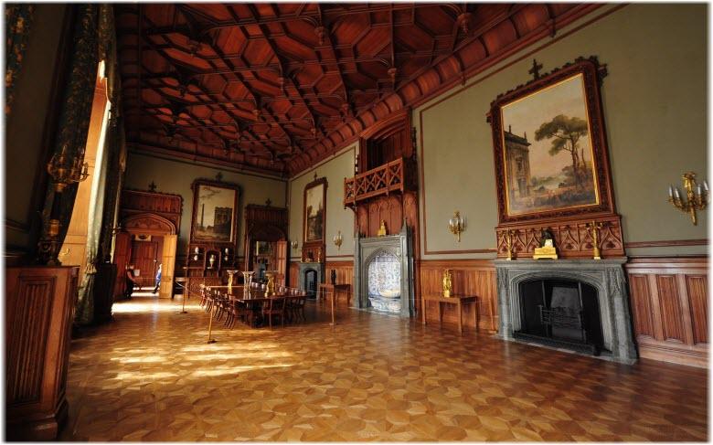 интерьер дворца графа Воронцова