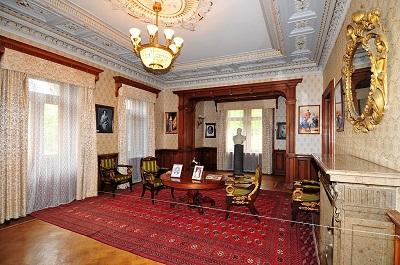 Фото внутри дворца в Массандре