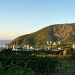 Поселок Партенит — райский уголок полуострова Крым