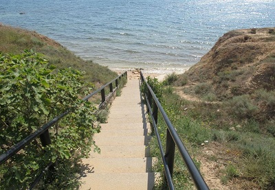 пансионат «Тарпанчи» - спуск к пляжу