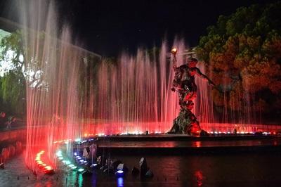 партенит фонтан прометей