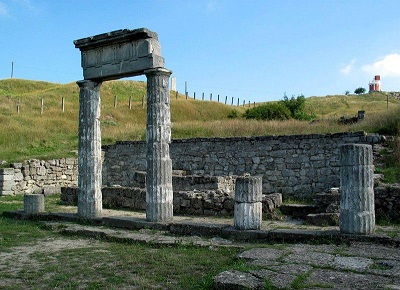 руины Пантикапея в Керчи
