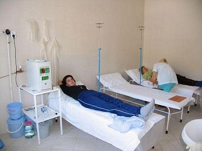 санаторий славутич алушта лечение