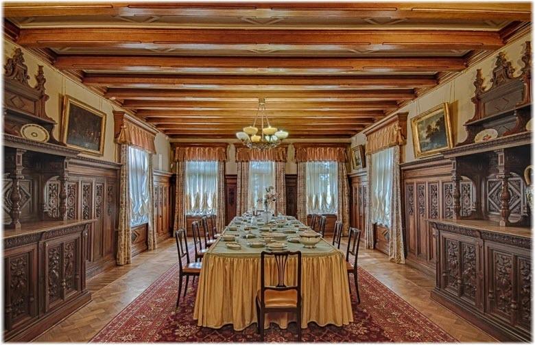 столовая Массандровского дворца