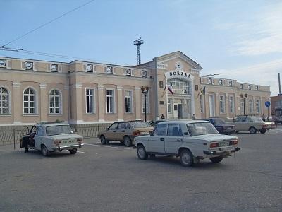 железнодорожный вокзал в керчи