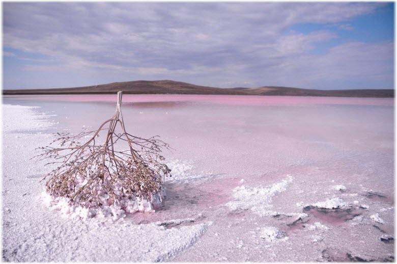 зимнее Кояшское озеро