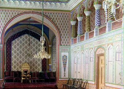 Фото внутри Дворца эмира Бухарского