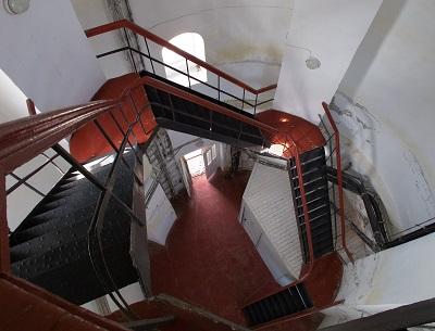 Еникальский маяк в Керчи - внутри башни