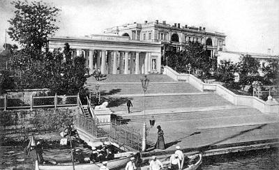 Старое фото Графской пристани