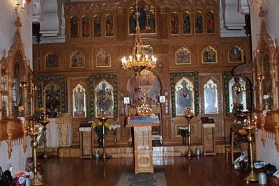 Фото внутри Златоустовского храма