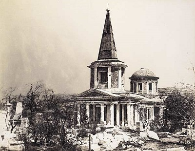 Старое фото Храма всех Святых