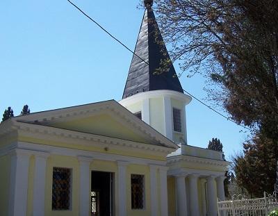 Фасад современной церкви