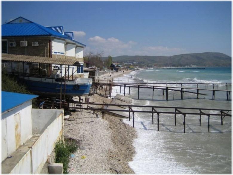 Пляж Green