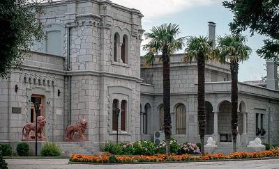 Юсуповский дворец в Кореизе - фото