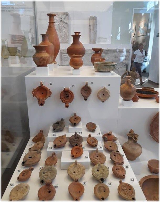 античная выставка в музее