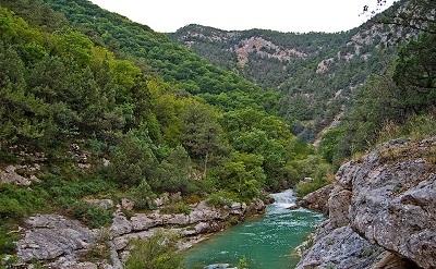 чернореченский каньон крым