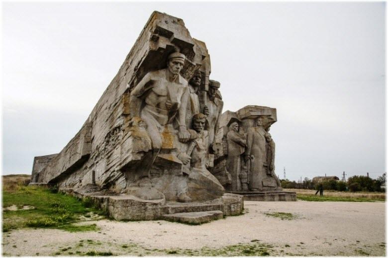 фото Аджимушкайских каменоломен