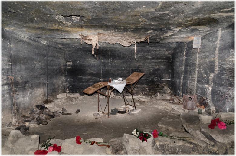 фото каменоломен в Аджимушкае