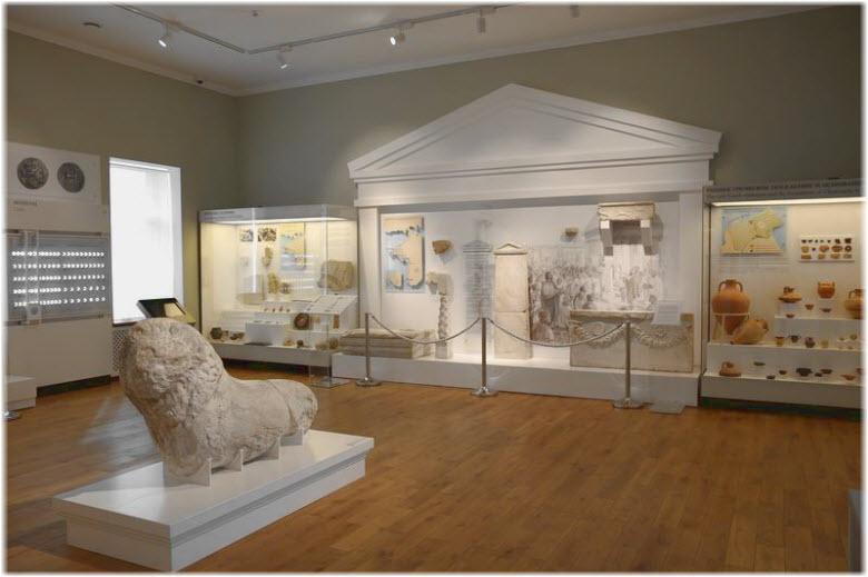 фото в музее Херсонеса