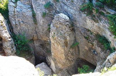 кореиз пещера трехглазка