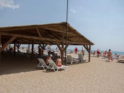 пансионат Фиорд - на пляже