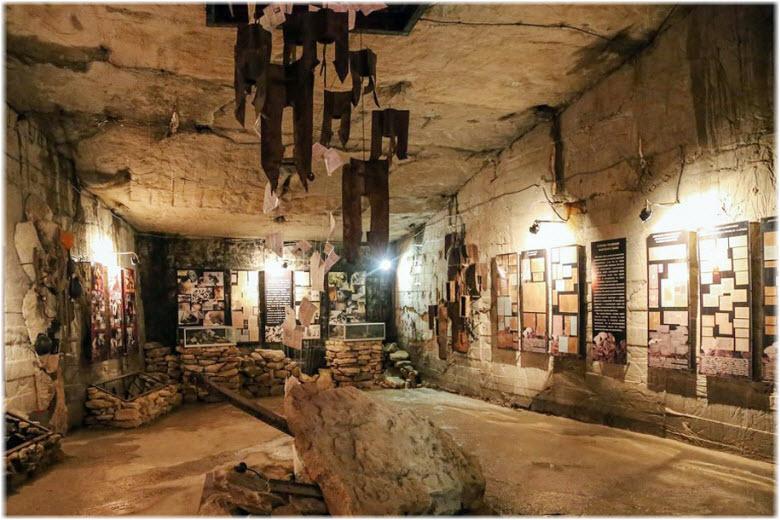 в музее Аджимушкая
