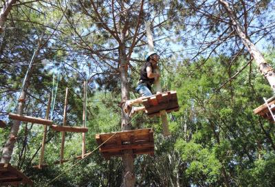 веревочный парк в евпатории