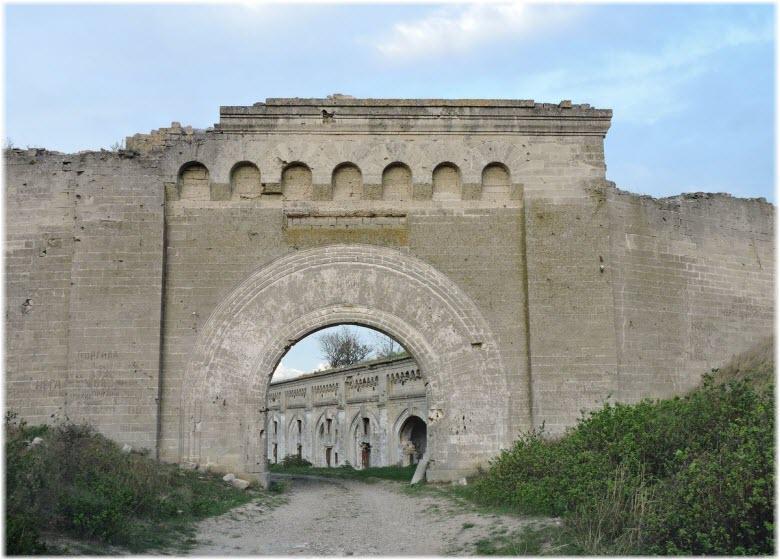ворота Крепости Керчь