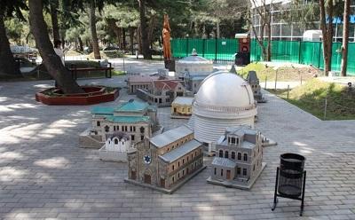 Алуштинский парк Крым в миниатюре фото 1
