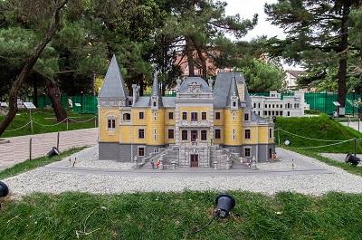 Алуштинский парк Крым в миниатюре фото 3