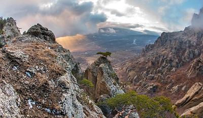 Долина привидений в Крыму фото