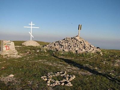 Гора Роман-Кош на вершине
