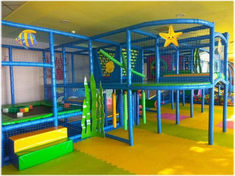 Игровая комната в отеле «Аквапарк»