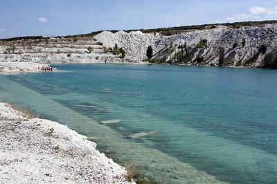 Мраморное озеро Бахчисарай