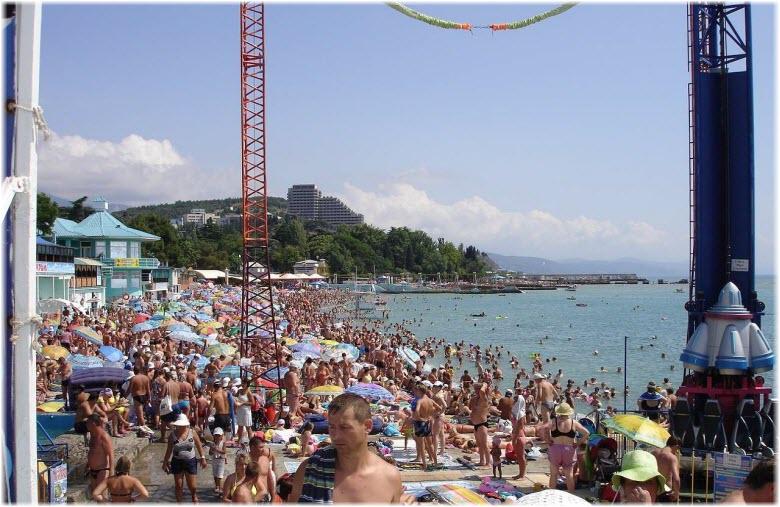 Центральный пляж «Ласковый берег»