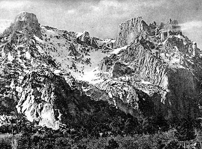 гора Ай-Петри в Крыму - старые фото