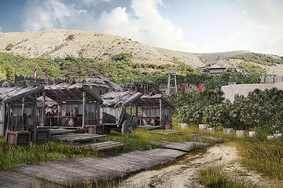 кинопарк Викинг в Крыму фото 2