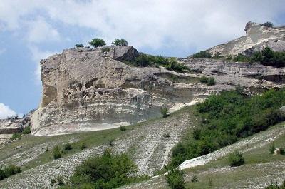 пещерный город Бакла фото 1