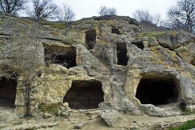 пещерный город Чуфут-Кале фото 1