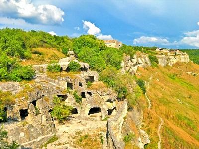 пещерный город в крыму чуфут-кале