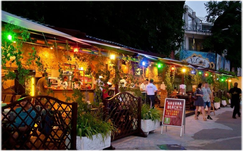 рестораны Массандровского пляжа