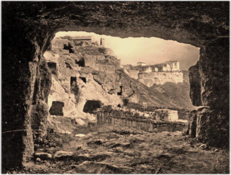 старые фото Чуфут-Кале