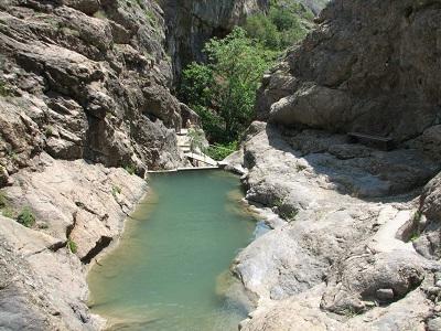 Арпатские водопады в Панагии фото 1